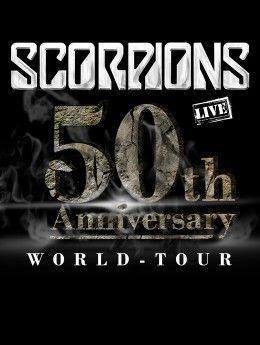 Scorpions - 50th Anniversary World Tour