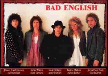Bad English - Discography