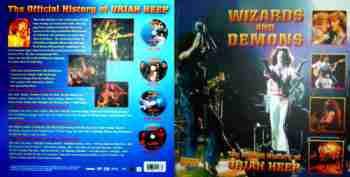 Uriah Heep – Wizards And Demons – The Official History 4DVD
