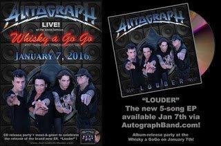 Autograph - Louder 2016 EP