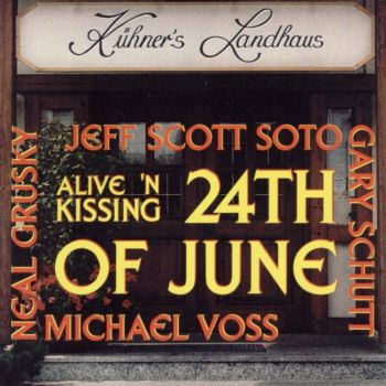 Jeff Scott Soto - 1995 Alive 'n Kissing - Front