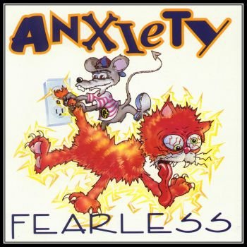 Anxiety - Fearless (1993) - Front