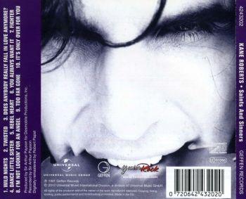 KANE ROBERTS - Saints And Sinners [YesterRock 2CD Ltd. Ed. remastered +4] back