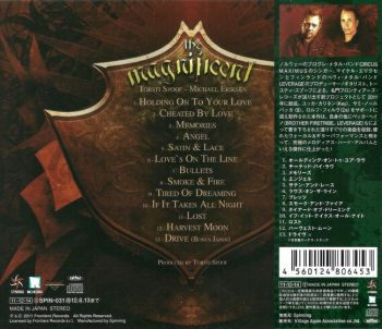 THE MAGNIFICENT - The Magnificent [Japanese Edition] back