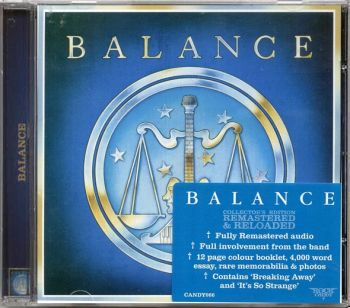 BALANCE - Balance [Rock Candy Remastered & Reloaded] front