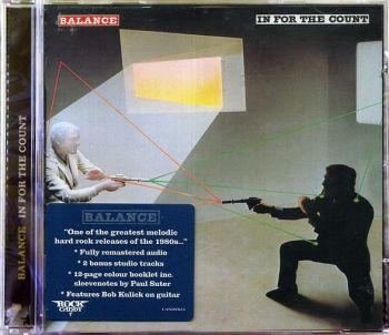 BALANCE - In For The Count [Rock Candy Remastered +2] front