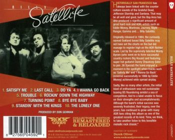 BILLY SATELLITE - Billy Satellite [Rock Candy remastered] back