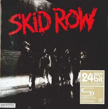 SKID ROW - Skid Row [Japan SHM-CD Limited Release remastered +4] front