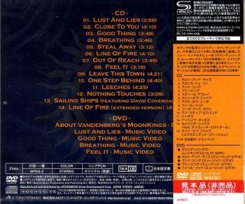 VANDENBERG'S MOONKINGS - ST [Japan Deluxe Edition SHM-CD] back