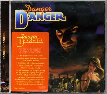 Danger Danger - Danger Danger [Rock Candy remaster] front