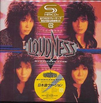LOUDNESS - Hurricane Eyes (Japanese Version) [SHM-CD remastered LTD Release] front