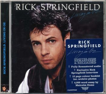 Rick Springfield - Living In Oz [Rock Candy remastered] front