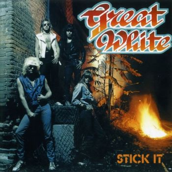 GREAT WHITE - Stick It [1st album Axe Killer Records remastered +5] front