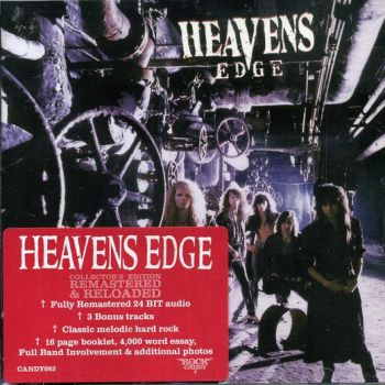 HEAVENS EDGE - Heavens Edge [Rock Candy Remastered +3] front