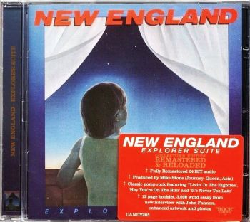 NEW ENGLAND - Explorer Suite [Rock Candy remaster] front