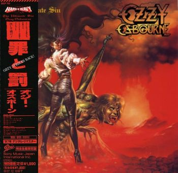 OZZY OSBOURNE - The Ultimate Sin [LTD Japanese miniLP remastered] front