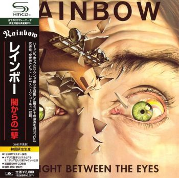 RAINBOW - Straight Between The Eyes [Remastered Japan SHM-CD miniLP] Front