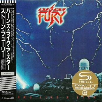 STONE FURY - Burns Like A Star [Japan SHM-CD remastered MiniLP] front