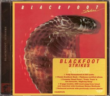 BLACKFOOT - Strikes [Rock Candy remastered] front