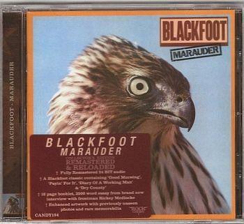 Blackfoot - Marauder [Rock Candy remastered] front