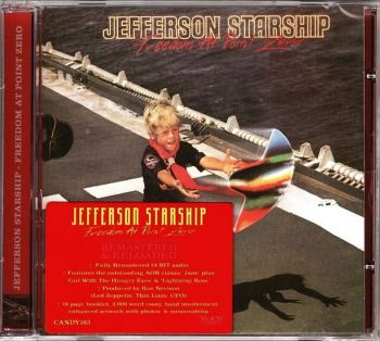 Jefferson Starship - Freedom At Point Zero (Rock Candy Remastered & Reloaded) front