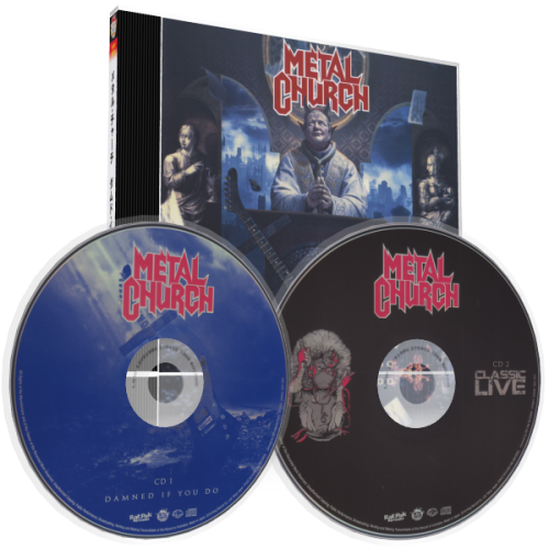 Metal Church – Damned If You Do (Japanese Ltd  Ed ) (2018), 2 CD