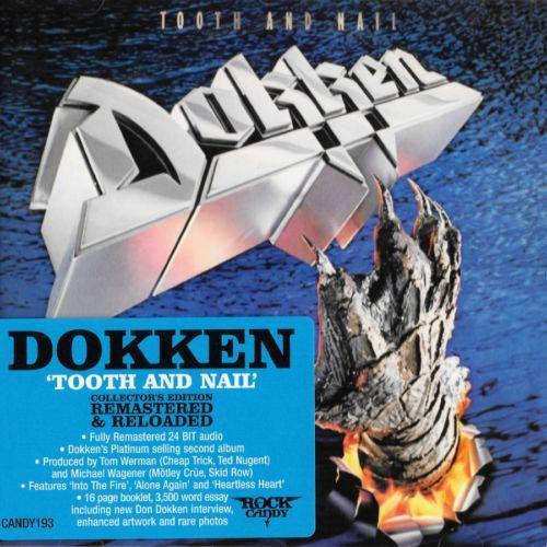 DOKKEN – TOOTH & NAIL (ROCK CANDY REMASTER+2 bonus) (1984