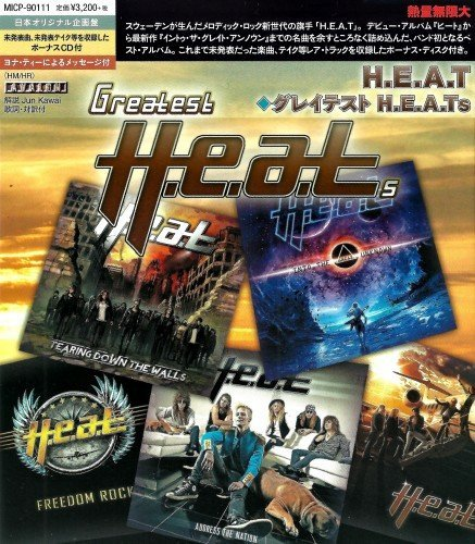 H E A T – Greatest H E A Ts [Japan Edition] 2018 | Melodic Rock AOR