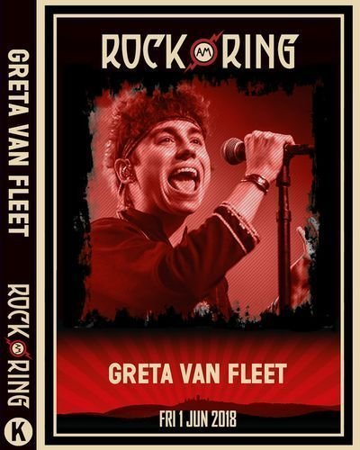 Greta Van Fleet – Rock am Ring 2018 [2018, HDRip]   Melodic Rock AOR