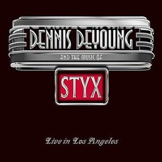 dennisdeyoung musicofstyx cd 0 Dennis DeYoung And The Music Of  Styx    Live In Los Angeles 2014 (2 CD)