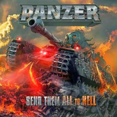 Panzer - Send Them All To Hell (Front Cover)
