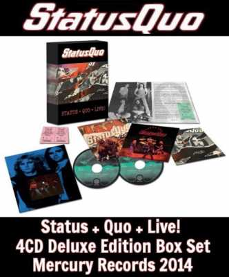 d7c5455e54db947e841e0e5a741ff3d0 Status Quo   Status + Quo + Live! 2014  (4CD Deluxe Edition Box Set)  lossless