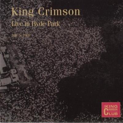 front17 King Crimson   Hyde Park, London, 1969 (Bootleg/D.G.M. Collectors Club 2002) Lossless