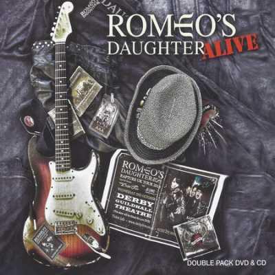 cover1 Romeos Daughter   Alive (2014)
