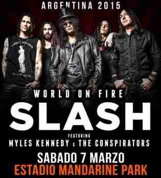 Slash - Live At Mandarine Park Argentina