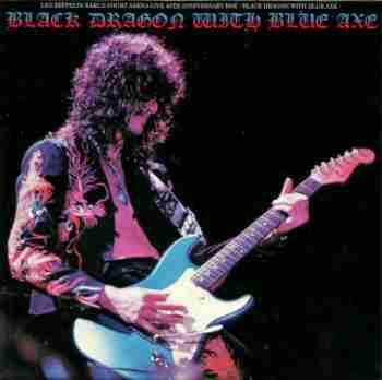Led Zeppelin - Black Dragon With Blue Axe