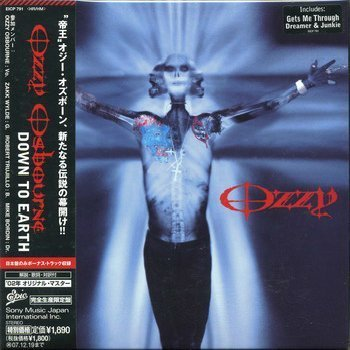 Ozzy Osbourne - Down To Earth (2001) (Japanese Edition)