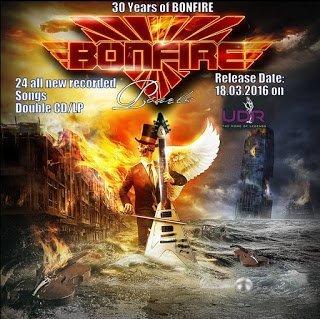 Bonfire - Tales (2 CD) 2016