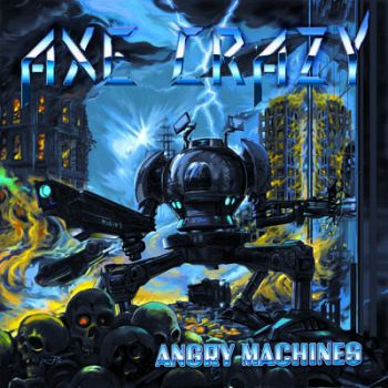 Cover AXE CRAZY_Angry Machines