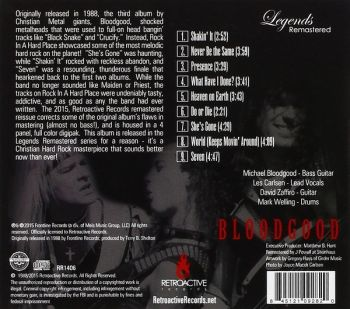 BLOODGOOD - Rock In A Hard Place [Legends Remastered Series] back