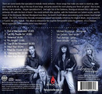 Bloodgood - Out Of The Darkness [Legends Remastered Series] - back