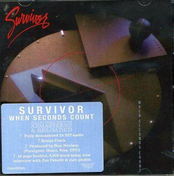 SURVIVOR - When Seconds Count [Rock Candy remaster] front