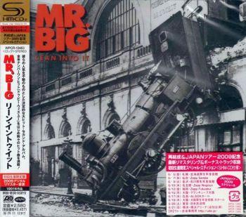 Mr. BIG - Lean Into It [Japanese Remaster SHM-CD LTD Release +4] front