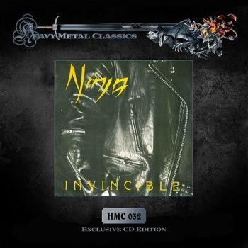 NINJA - Invincible [remastered 2016] front