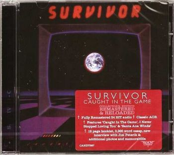SURVIVOR - Caught In The Game [Rock Candy Remastered & Reloaded] front