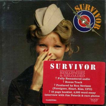 SURVIVOR - Survivor [Rock Candy Remastered & Reloaded +1] front