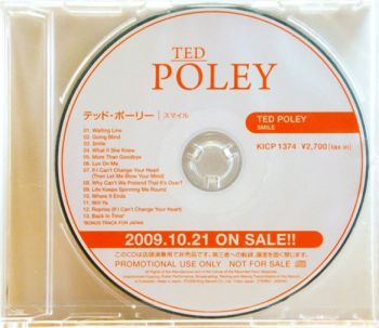 TED POLEY - Smile [Japanese Edition] CD