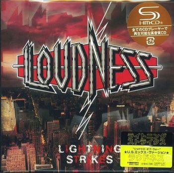 LOUDNESS - Lightning Strikes [Japan SHM-CD remastered LTD] Out Of Print - front