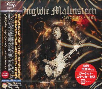 YNGWIE MALMSTEEN - World On Fire [Japan SHM-CD] front