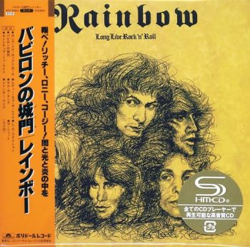 RAINBOW - Long Live Rock 'n' Roll [Deluxe Edition Japan SHM-CD] front